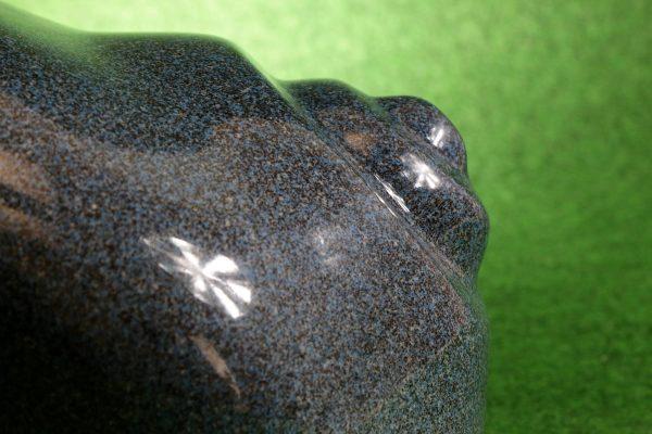 Leuchtschnecke in Blau-Saphir