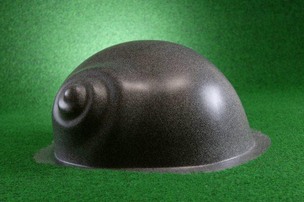 Leuchtschnecke in Grau (matt)