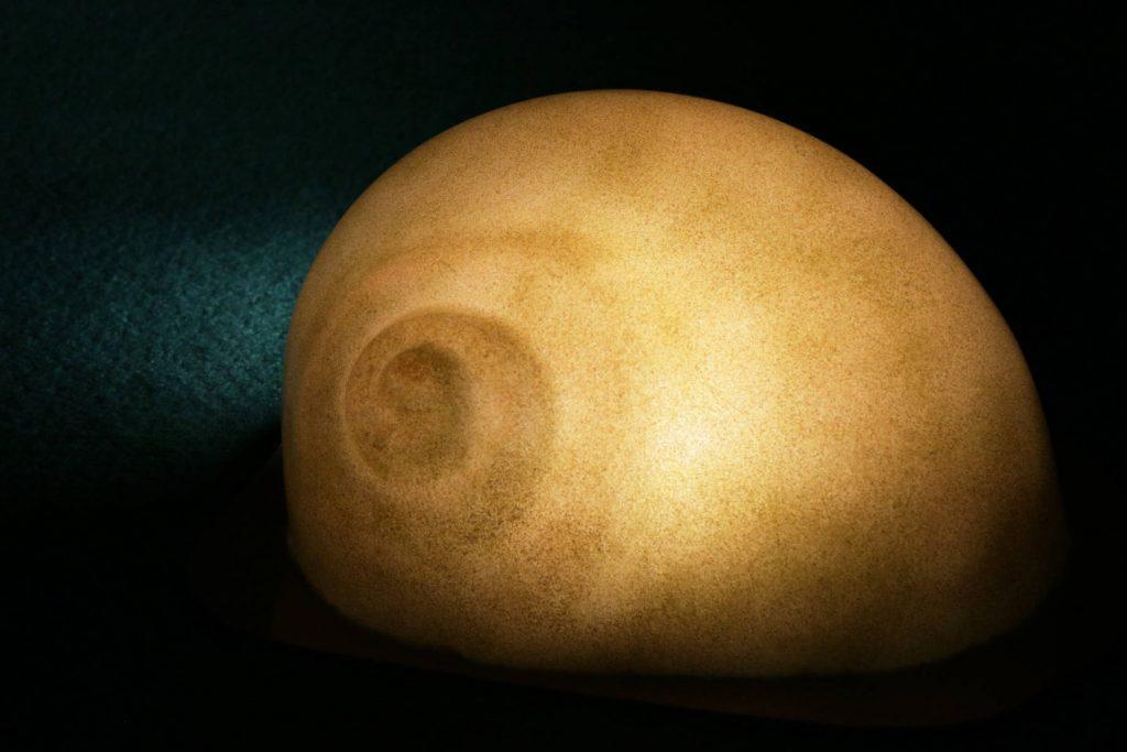 Leuchtschnecke in Weiß-Albit (matt)