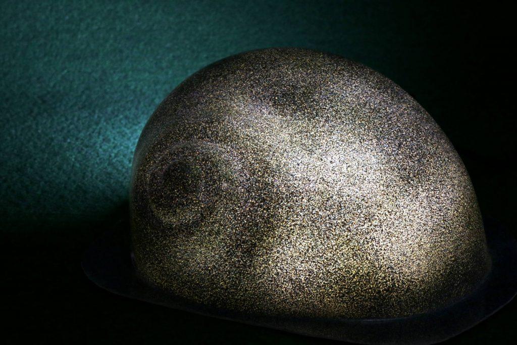 Leuchtschnecke in Blau-Saphir (glänzend)